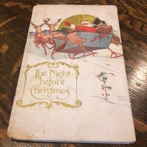 The Night Before Christmas Book - Circa 1918